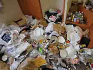 ゴミ屋敷、ゴミ部屋、汚部屋の片付け
